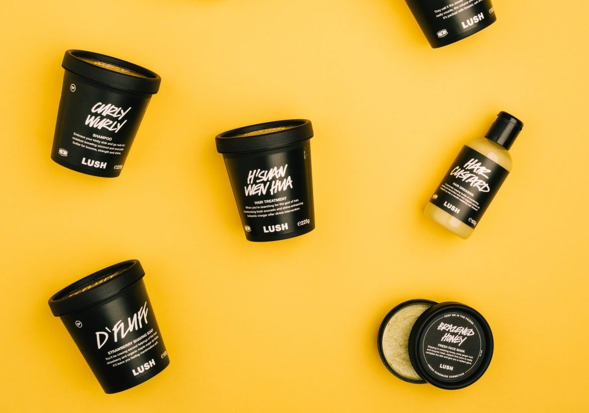Lush is ditching eggs from all its products
