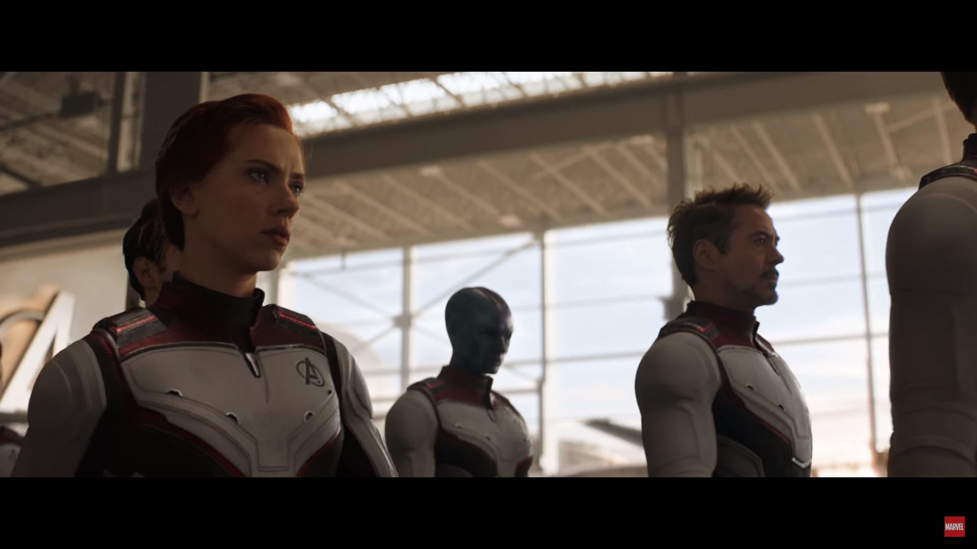 Iron Man in the trailer for Avengers: Endgame