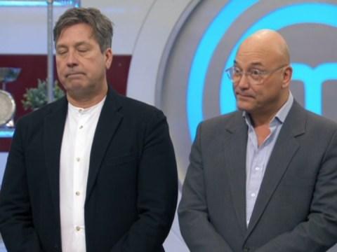 John Torode tears up sending Geoff home just before MasterChef final: 'I hate this bit'