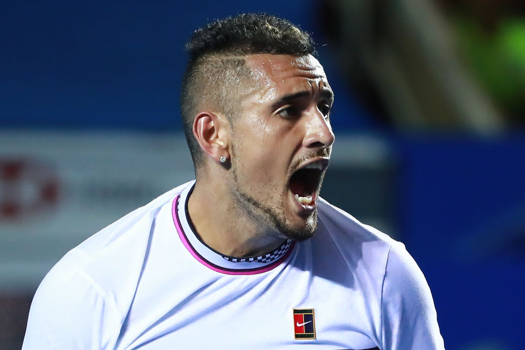 Nick Kyrgios clashes with umpire and crowd but beats Stan Wawrinka to back up Rafael Nadal win