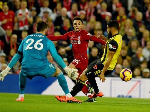 Jurgen Klopp reveals he gave match ball to Trent Alexander-Arnold after Liverpool thrashed Watford