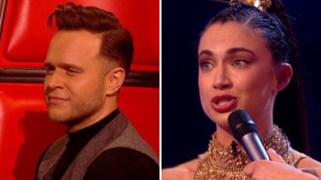 Olly Murs offers to get naked for The Voice contestant Bethzienna Williams