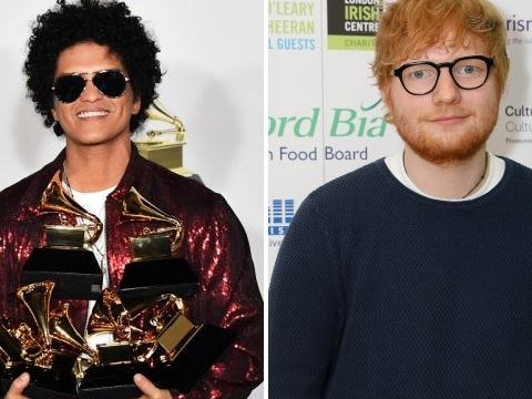 Bruno Mars blames Ed Sheeran as their 'sexually explicit' songs banned in Indonesia