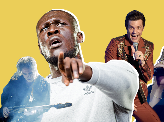 The Killers and The Cure join Stormzy as Glastonbury headliners