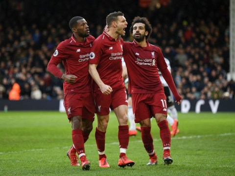 Liverpool survive late Ryan Babel scare to beat Fulham and return to top of Premier League table