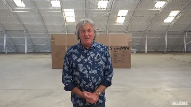James May tricked The Grand Tour fans last year with YouTube unboxing video and everyone's only just realised