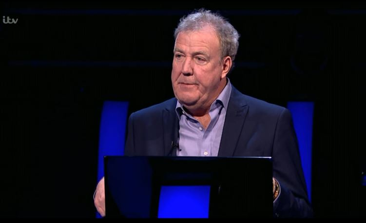 Who Wants To Be A Millionaire contestant throws shade at Jeremy Clarkson over his weight: 'I'm not a wizard'