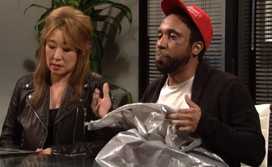 'Saturday Night Live' Smollett scene ile ilgili görsel sonucu