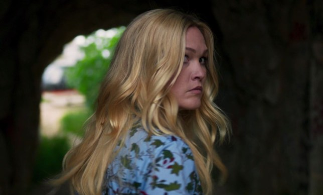 Julia Stiles in season two of Riviera
