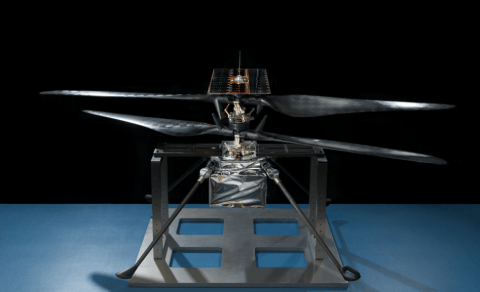 Nasa shows off 'Mars-copter' designed to hover over the alien Martian landscape