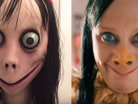 Momo comes to life for terrifying SNL sketch thanks to Kate McKinnon and we'll never sleep again