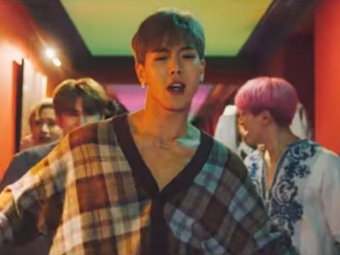 Monsta X and Steve Aoki have a feather-filled party in carefree music video for Play It Cool