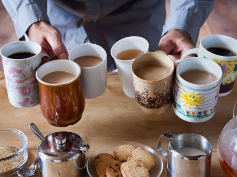 There could be poo residue on your office mug