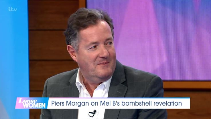 Piers Morgan loved it when Mel B spilled saucy secret about sex with Geri Horner: 'It was an amazing moment'