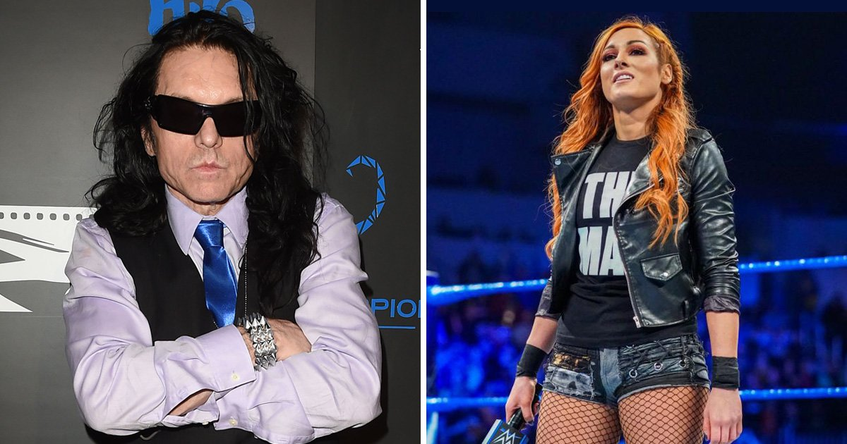 The Room's Tommy Wiseau wants to introduce Becky Lynch at Wrestlemania and it's genius