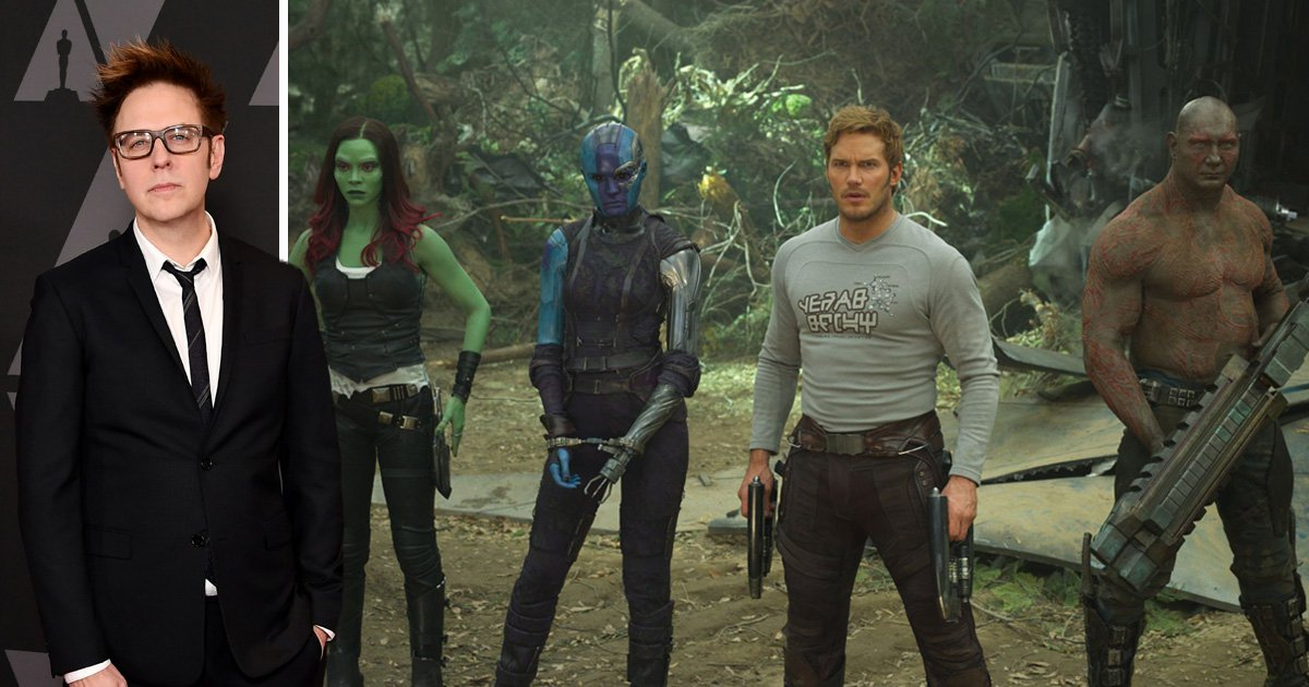 Marvel boss reveals axed director James Gunn's script will be used for Guardians Of The Galaxy 3