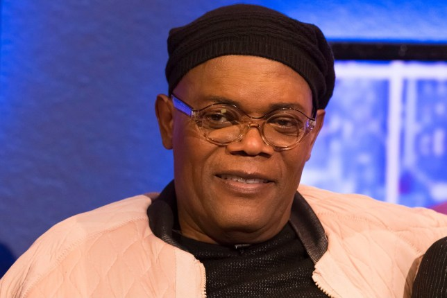 Mandatory Credit: Brian J Ritchie/Hotsauce Editorial Use Only Mandatory Credit: Photo by Brian J Ritchie/Hotsauce/REX (10125518o) Samuel L Jackson 'The Jonathan Ross Show' TV show, series 14, Episode 1, London, UK - 02 Mar 2019