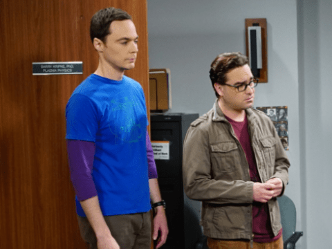The Big Bang Theory unaired pilot scene from inside the sperm bank is terrible