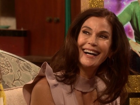 Desperate Housewives star Teri Hatcher makes awkward blunder on All Round To Mrs Brown's