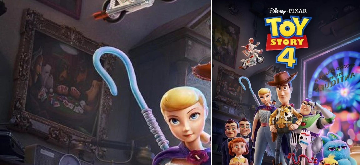 Pixar hid a sneaky Up Easter egg in the latest Toy Story 4 poster