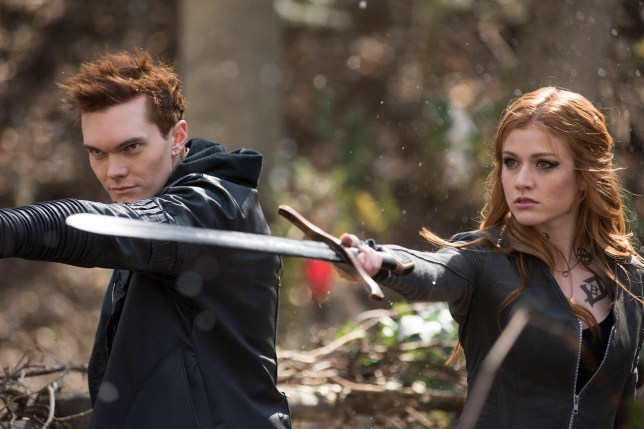 Luke Baines in a scene from Shadowhunters