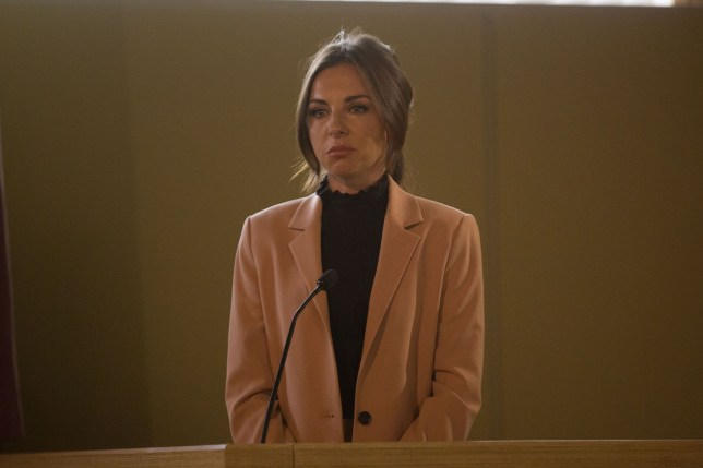 Ruby takes the stand in EastEnders