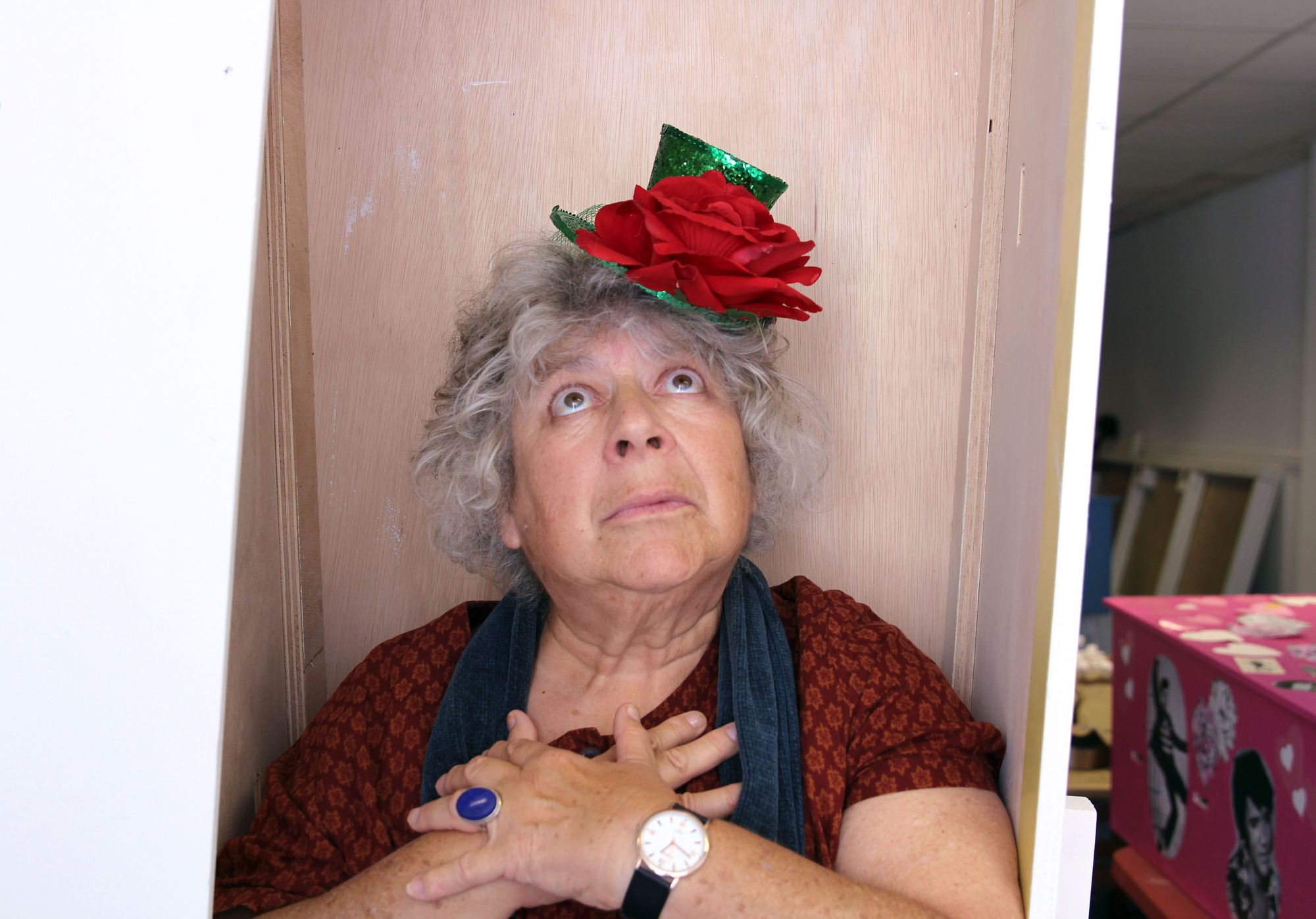 Miriam Margolyes reveals she's bought her coffin already as she opens up about dying fears