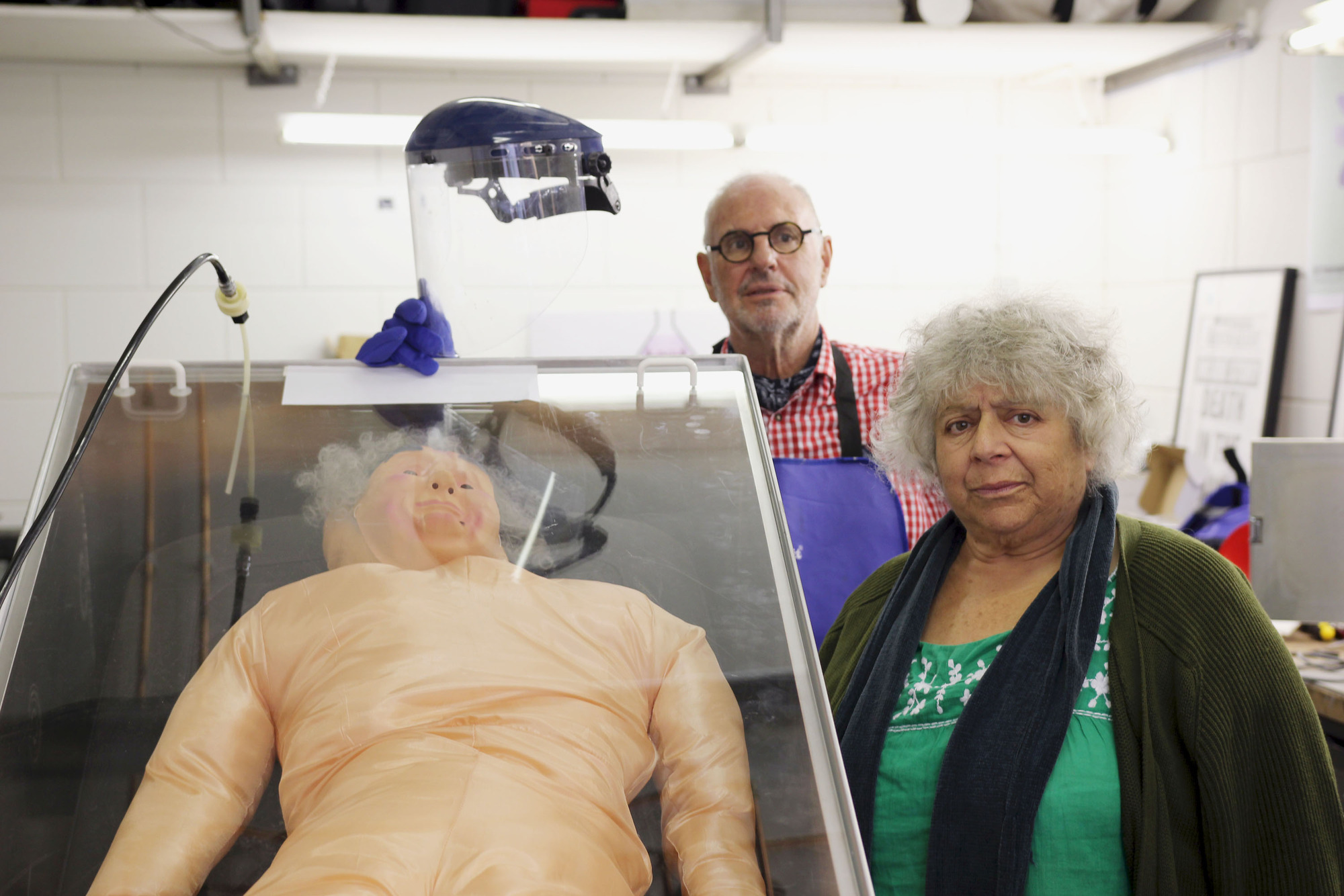 What has Miriam Margolyes starred in and who is her partner?