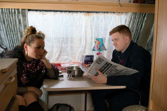 Chesney and Gemma are miserable in Coronation Street
