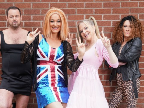 Danny Dyer as a Spice Girl for an EastEnders storyline is everything