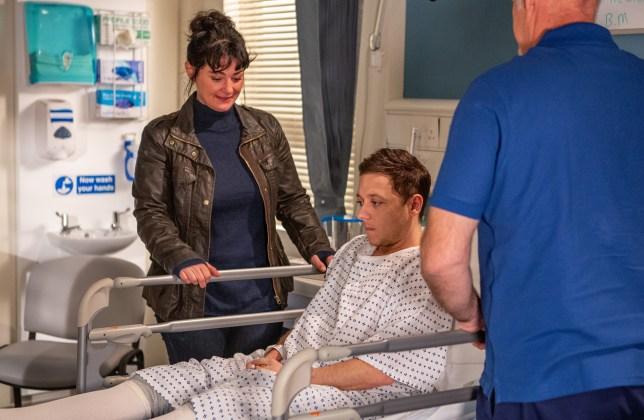 Matty Barton undergoes top surgery in Emmerdale tonight