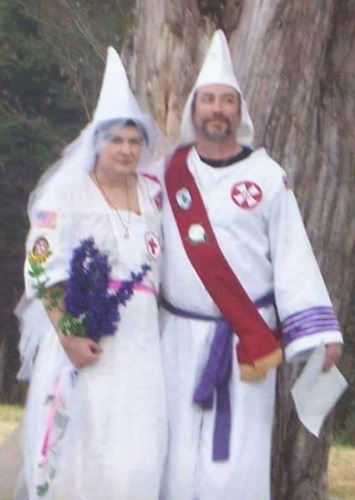 Ku Klux Klan wizard's wife blasted his entire face off with gun
