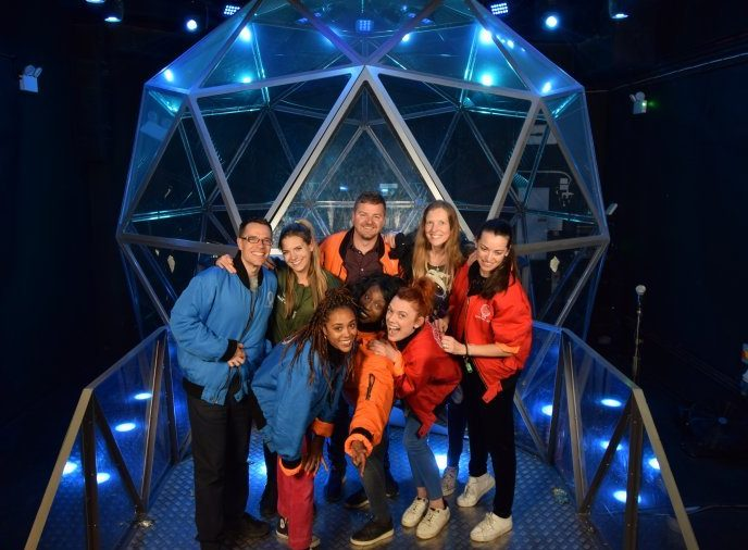 The Metro Team takes on The Crystal Maze Live (Picture: Crystal Maze Live Experience/Metro.co.uk)