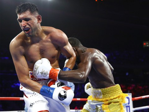 Virgil Hunter insists it was Amir Khan's decision to stop fight with Terence Crawford