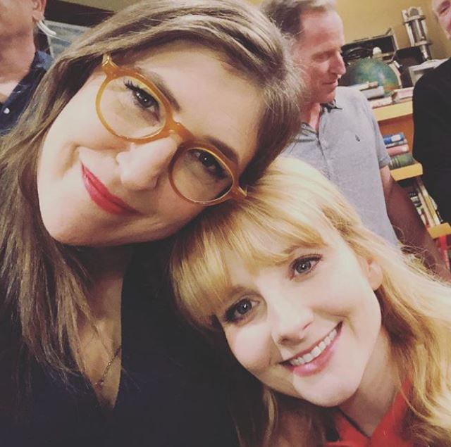 The Big Bang Theory's Melissa Rauch shares super emotional behind-the-scenes pics of finale table read