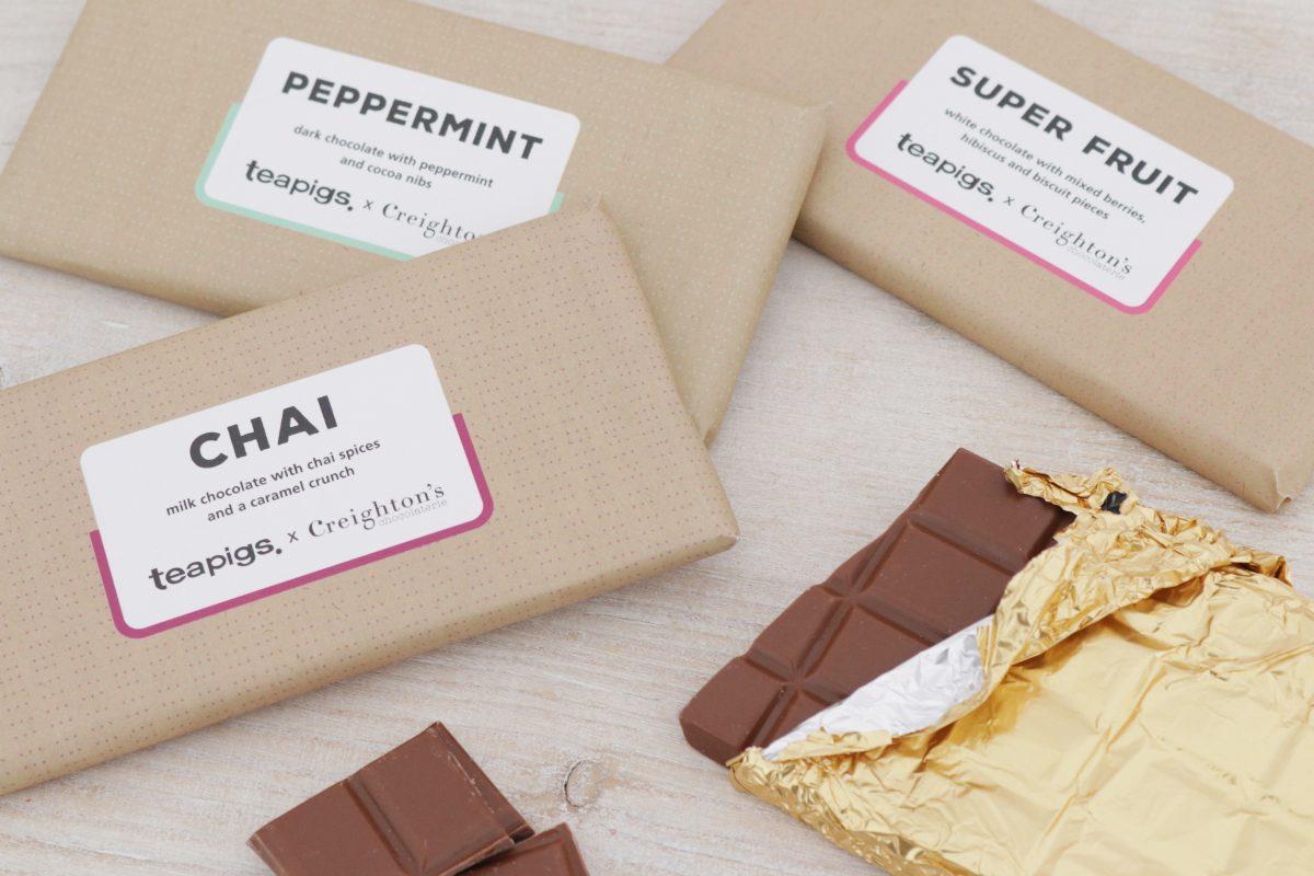 teapigs chocolate range