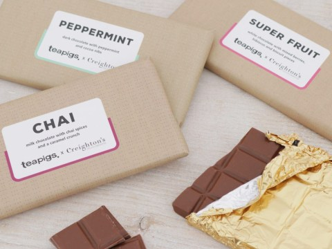 Teapigs launches tea-inspired chocolate range
