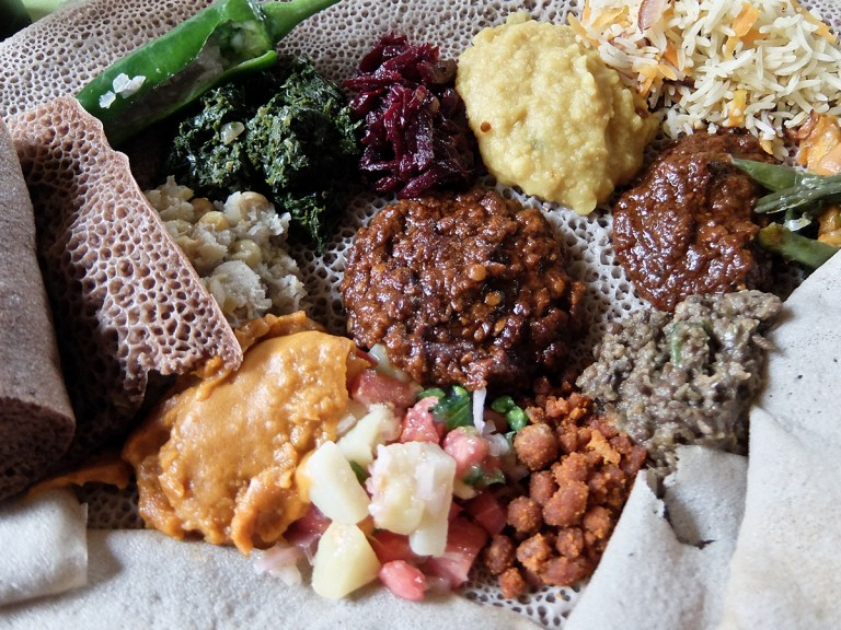 Food in addis ababa