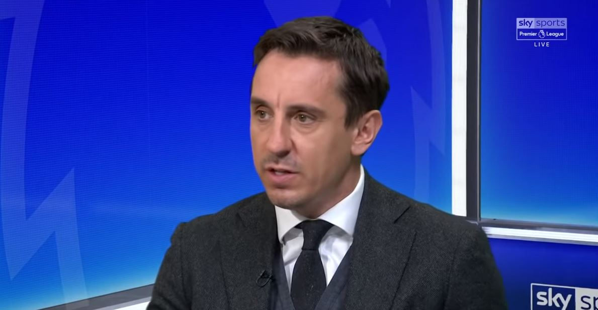 Gary Neville names the five 'irreplaceable' Liverpool players