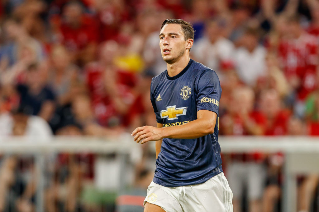 Manchester United defender Matteo Darmian to reject four-year contract
