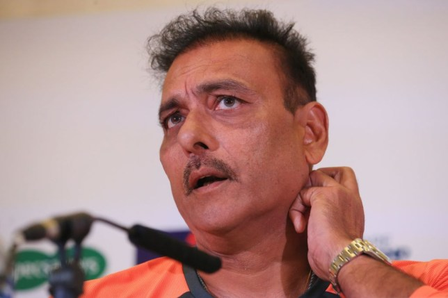 India head coach Ravi Shastri