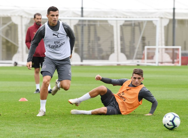 Image result for xhaka and torreira