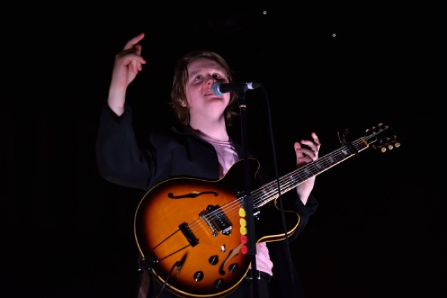 Lewis Capaldi performing at Shepherd's Bush Empire