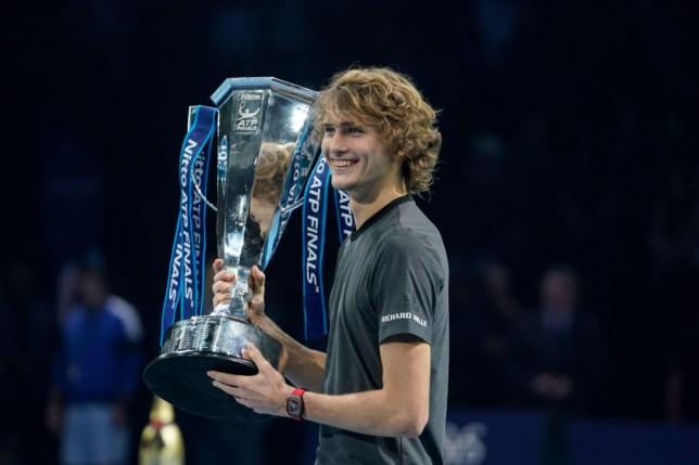 Zverev won the 2018 ATP Finals