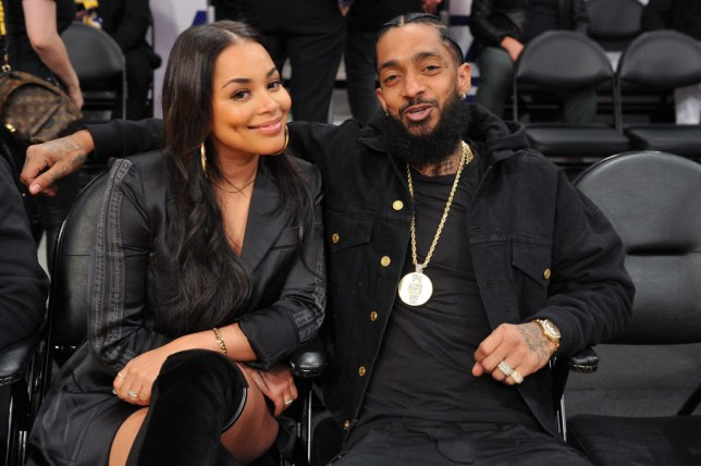 Rihanna Shares Nipsey Hussle Beautiful Collage Of Lauren London