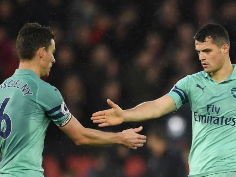 Arsenal deliver fitness update on Laurent Koscielny and Granit Xhaka ahead of Napoli clash