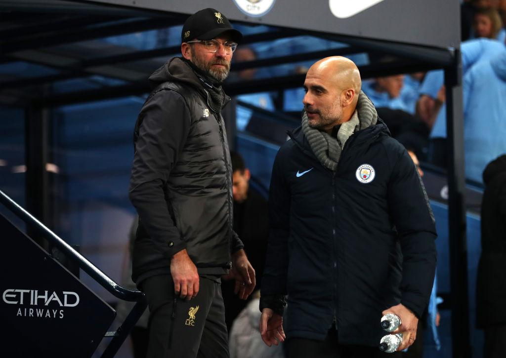 Jurgen Klopp and Pep Guardiola are battling it out for the Premier League title