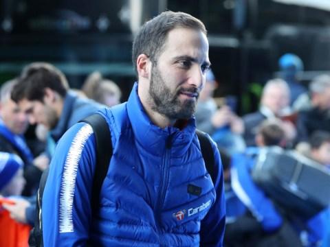Gonzalo Higuain tells Maurizio Sarri he wants permanent Chelsea transfer