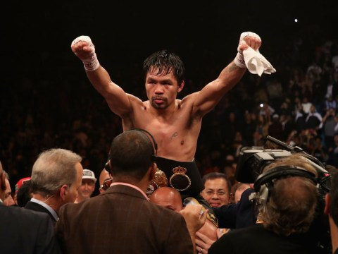 Manny Pacquiao emulates Floyd Mayweather and signs with RIZIN