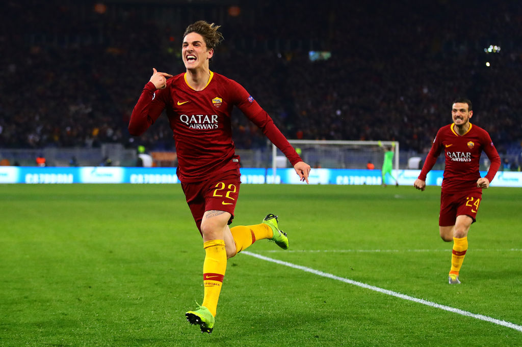 GettyImages-1124535578 Manchester United enter transfer race to sign Roma star Nicolo Zaniolo